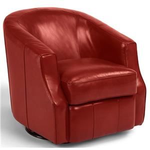 Contemporary Swivel Glider