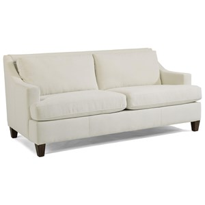 Contemporary Small Scale 2-Seater Sofa