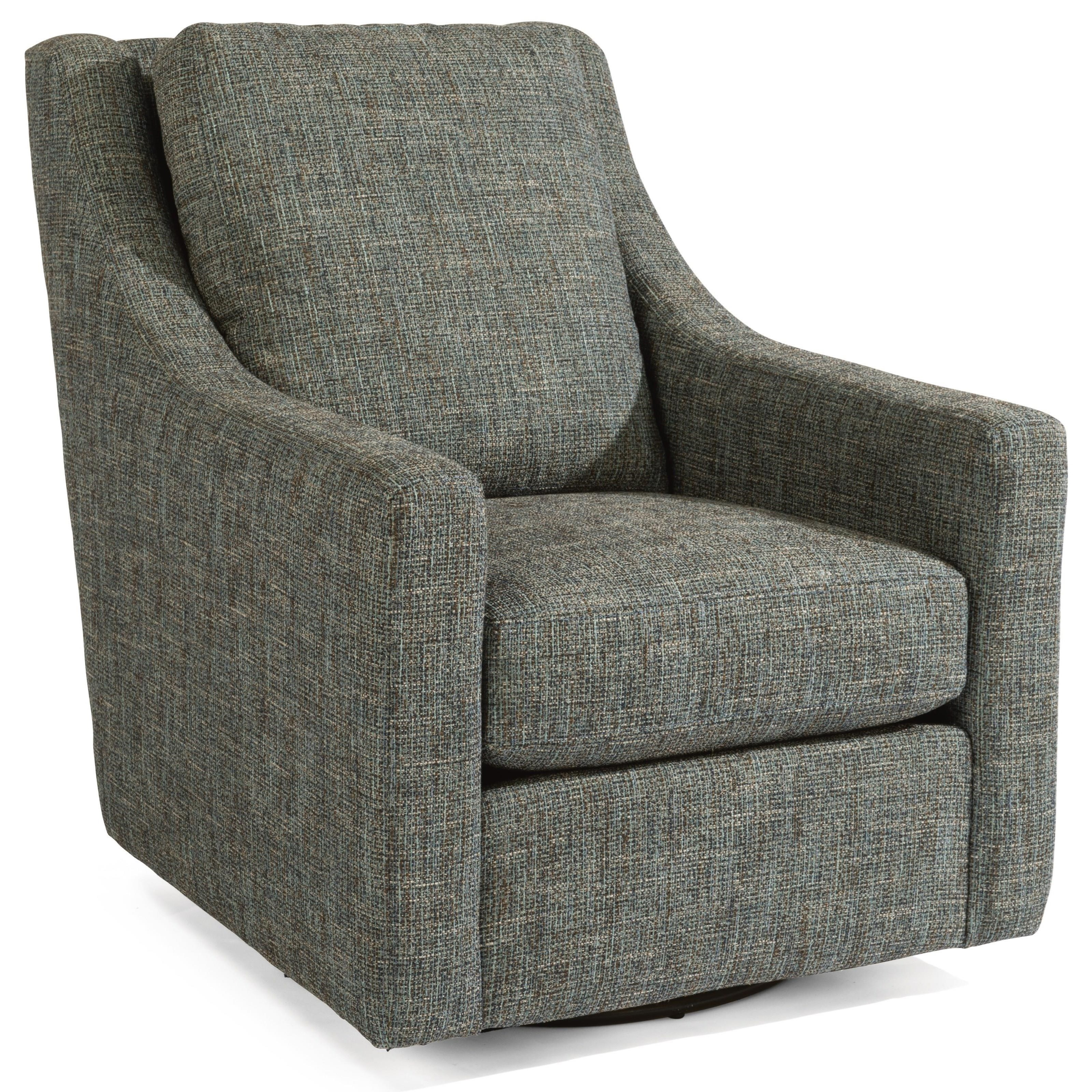 Murph Swivel Chair  by Flexsteel at Crowley Furniture & Mattress
