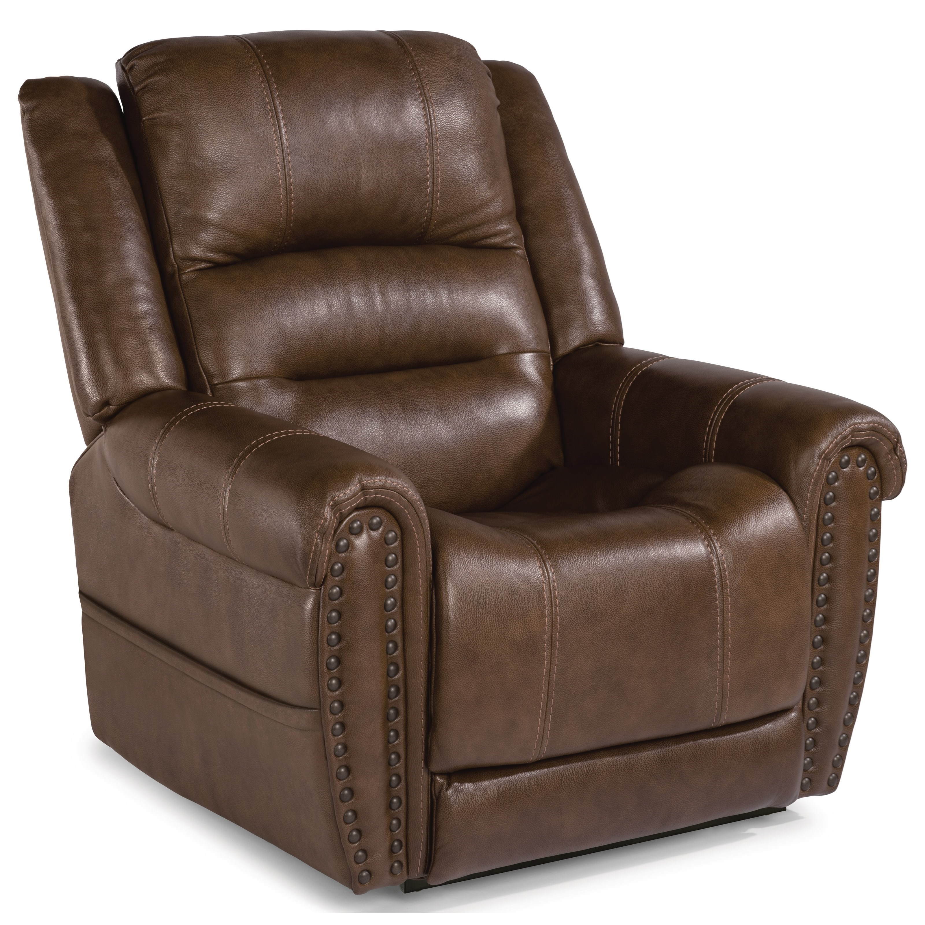 Latitudes - Oscar Power Lift Recliner by Flexsteel at Furniture and ApplianceMart