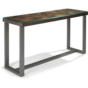 Flexsteel Patchwork Sofa Table