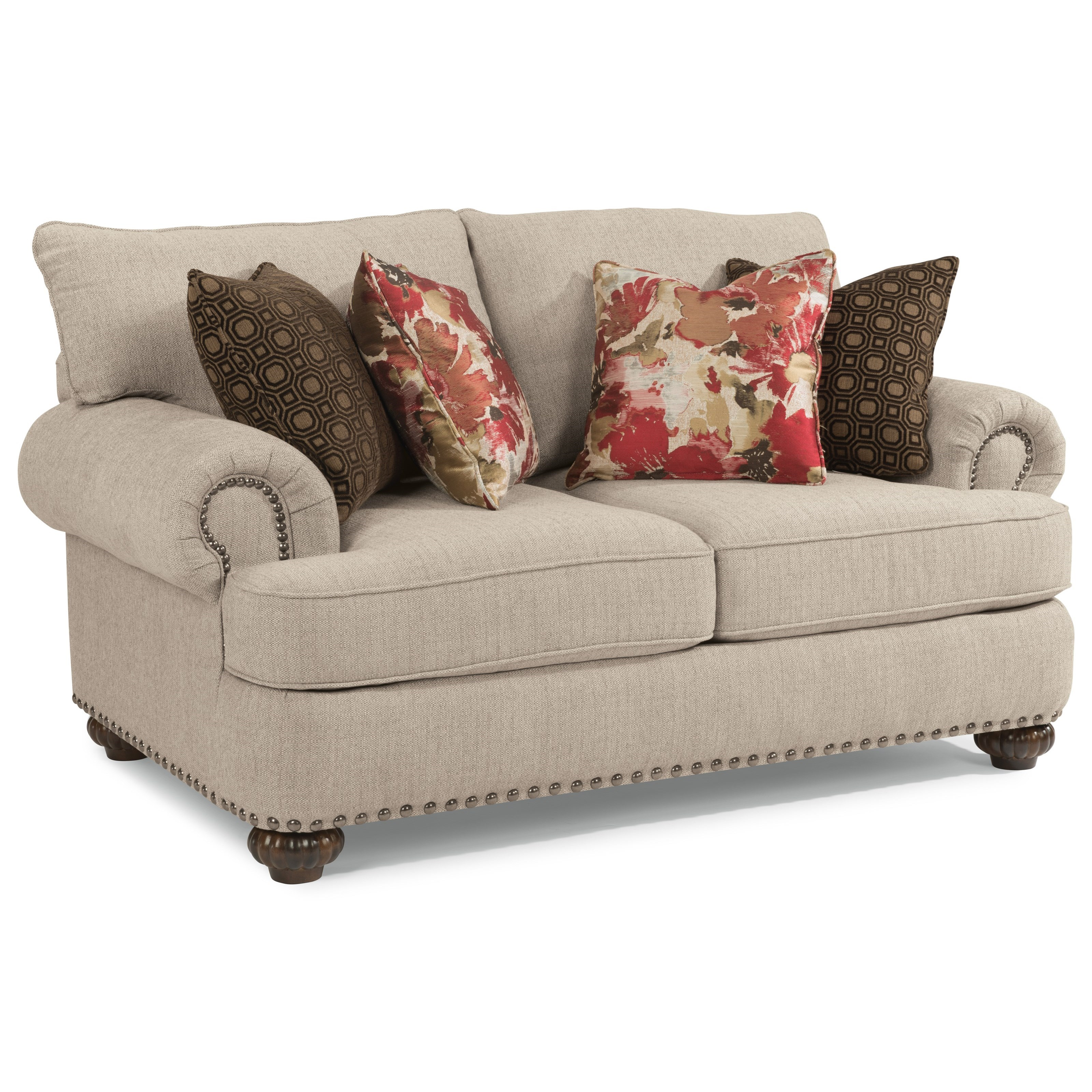 Patterson  Loveseat by Flexsteel at Jordan's Home Furnishings