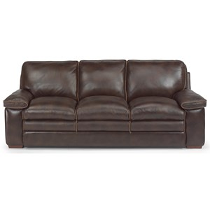 Casual Sofa with Pillow-Top Seating