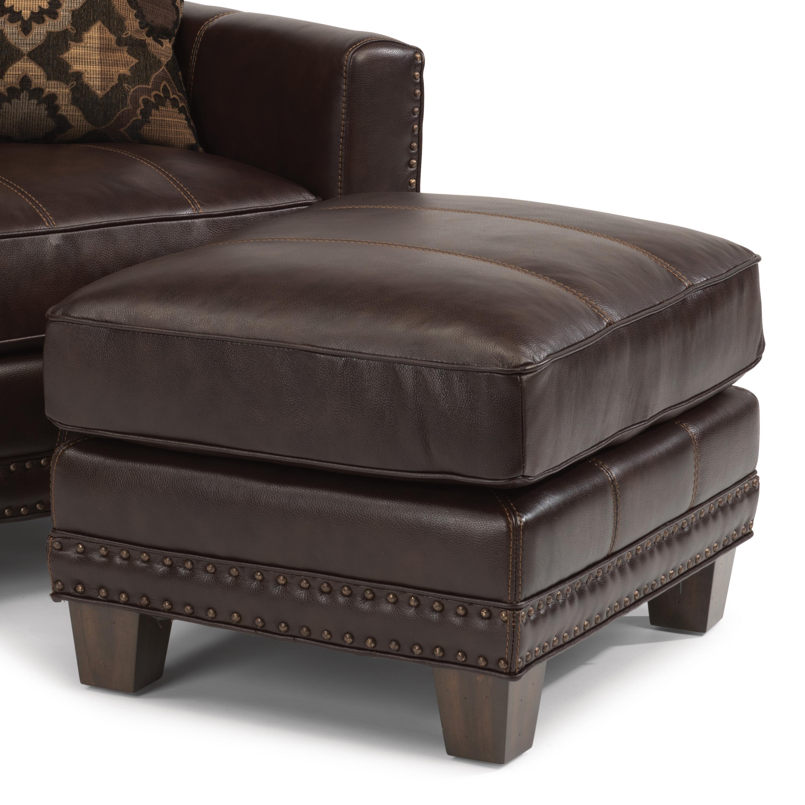 Latitudes - Port Royal Ottoman by Flexsteel at Walker's Furniture