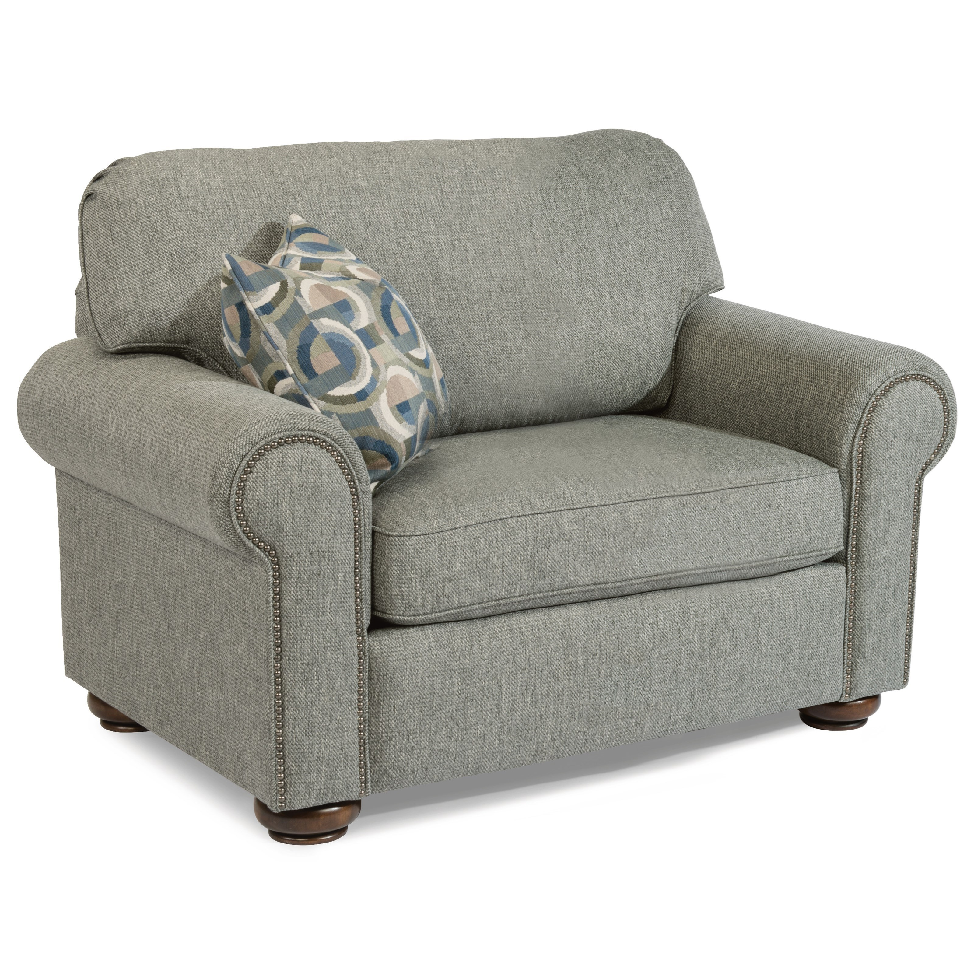 Preston Chair and a Half by Flexsteel at Steger's Furniture