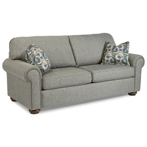 Traditional Full Sleeper Sofa with Nailhead Trim