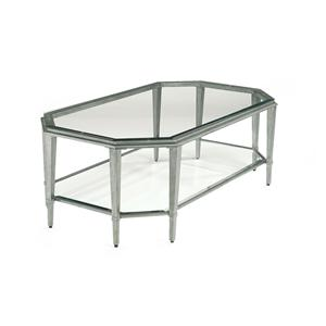 Contemporary Rectangular Glass Cocktail Table