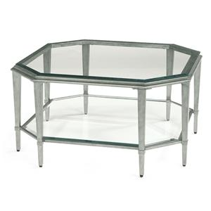 Flexsteel Prism Square Cocktail Table