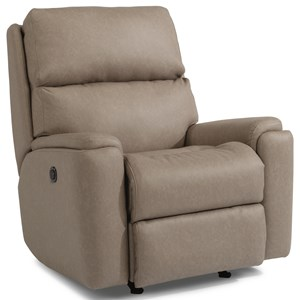 Casual Power Rocking Recliner with USB Port