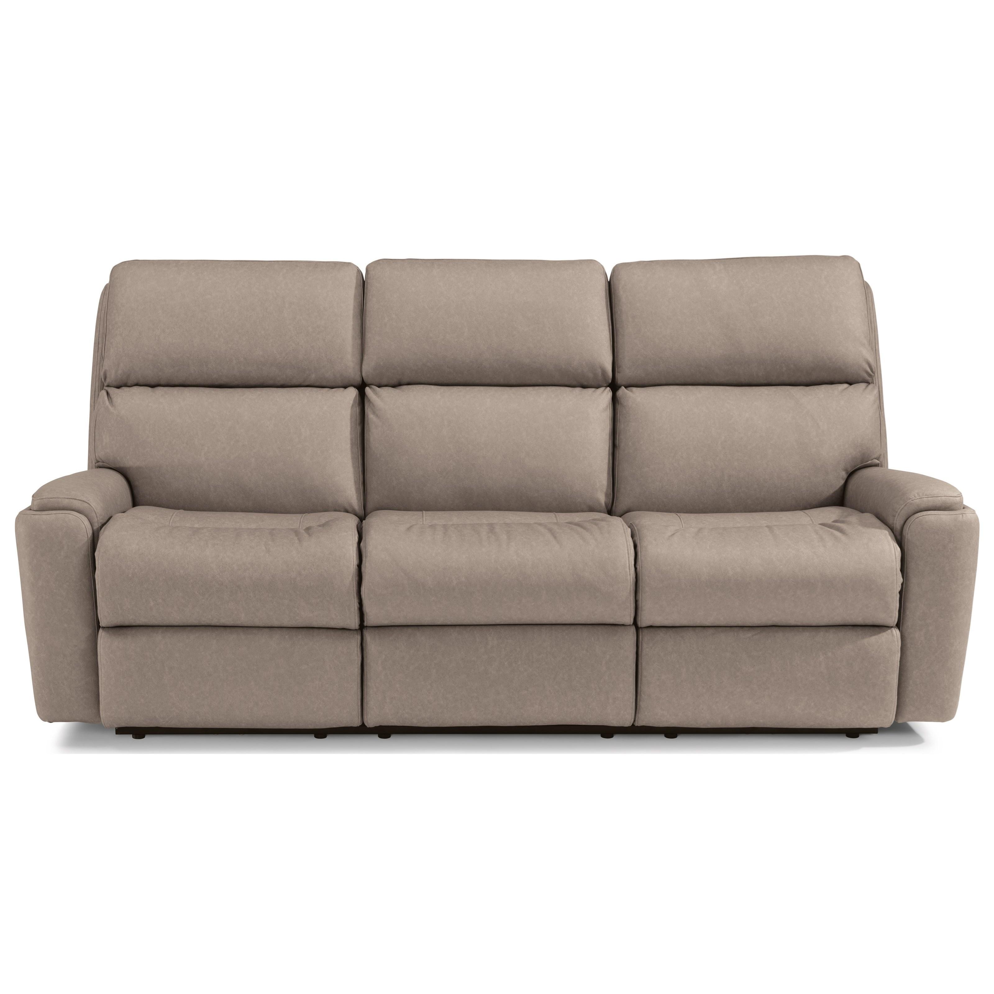 Rio Reclining Sofa by Flexsteel at Walker's Furniture