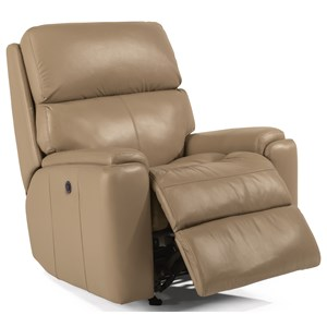 Casual Power Recliner with USB Port