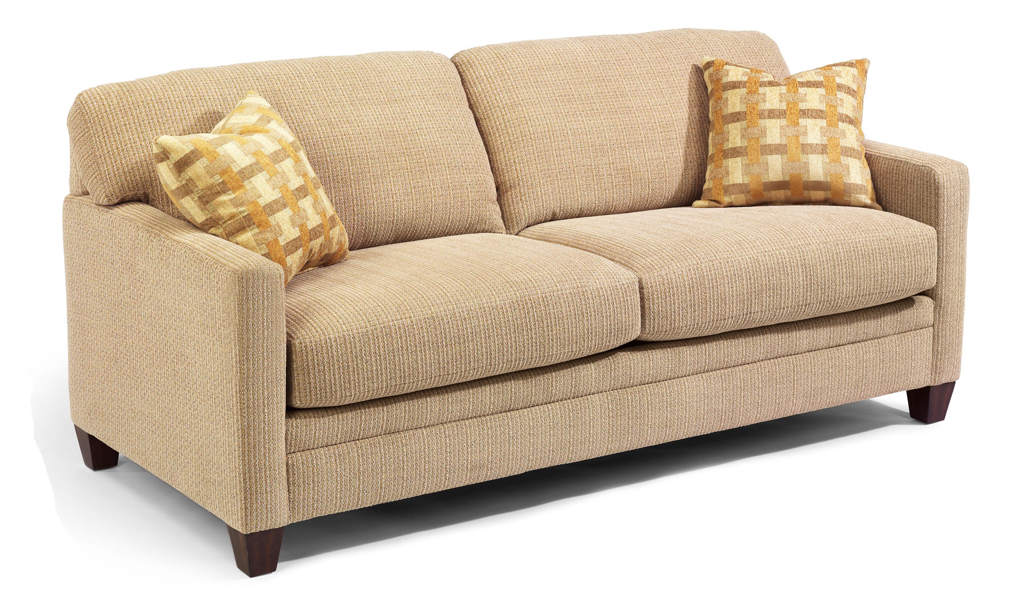 Serendipity Upholstered Sofa Sleeper by Flexsteel at Steger's Furniture