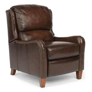 Traditional Recliner with Nailhead Trim