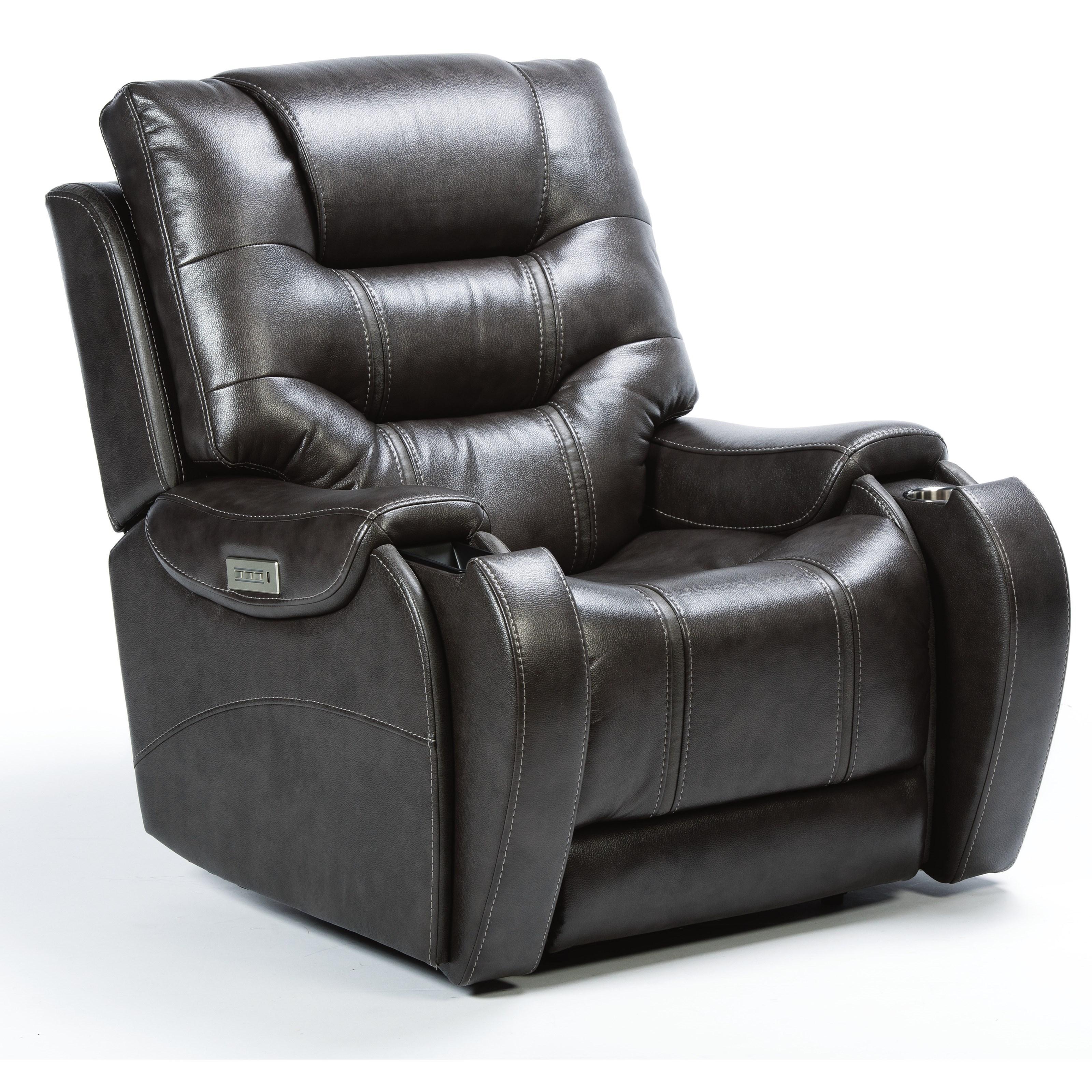 Latitudes - Sinclair Power Recliner by Flexsteel at Walker's Furniture