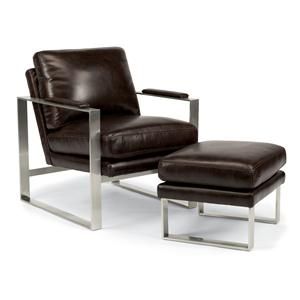Flexsteel Latitudes - Sixty Six Chair and Ottoman