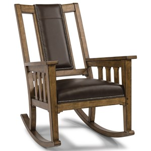 Mission Upholstered Rocking Chair