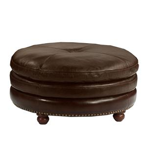 Flexsteel Latitudes-Suffolk Cocktail Ottoman