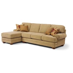 Flexsteel That's My Style Custom 2 Piece Sectional Sofa
