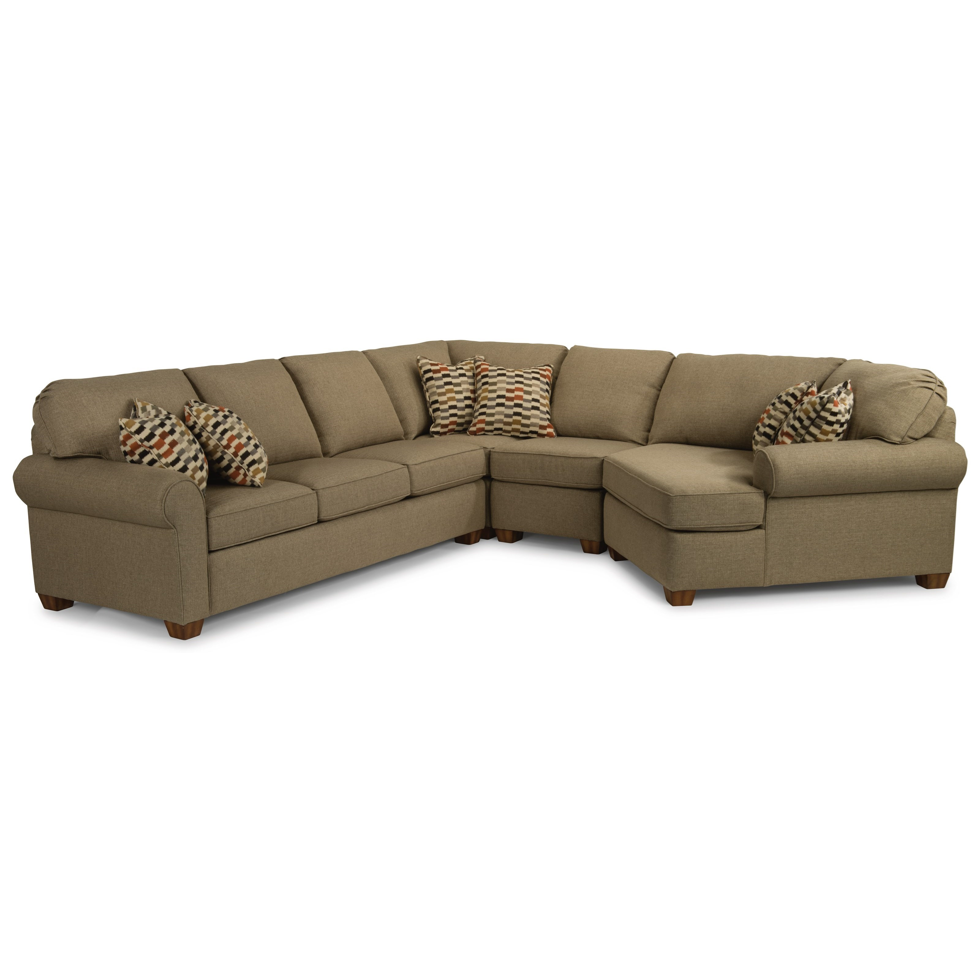 Thornton  Sectional by Flexsteel at Suburban Furniture