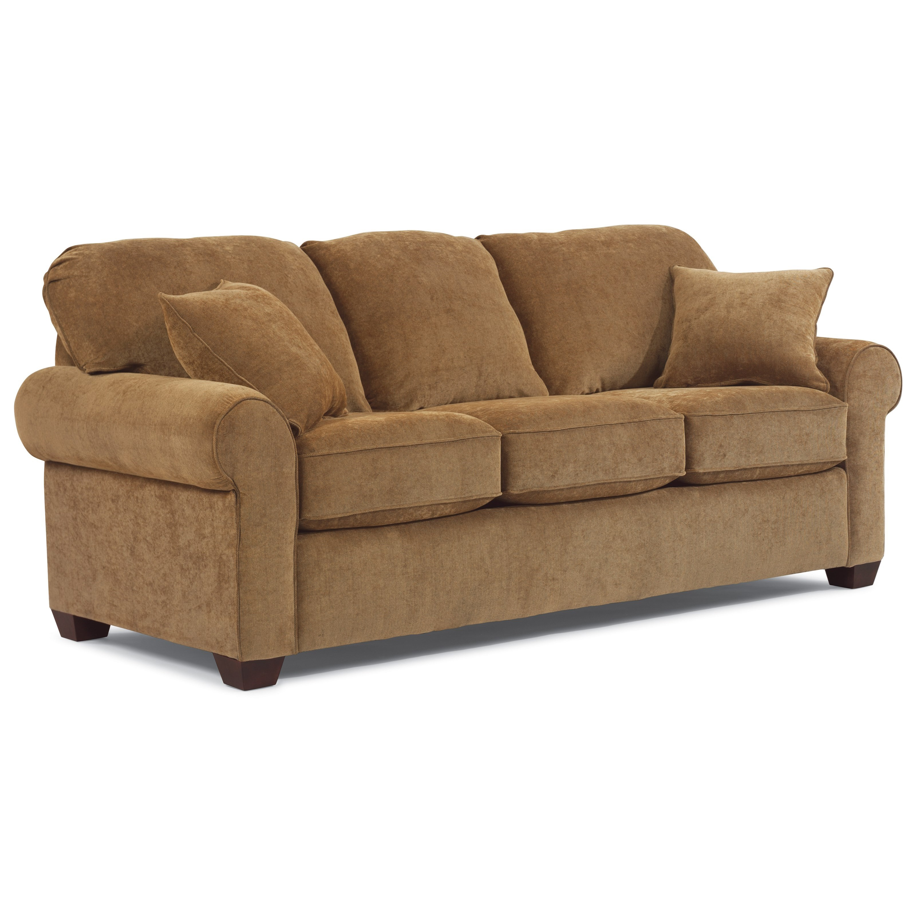 Thornton  Queen Sleeper Sofa by Flexsteel at Steger's Furniture
