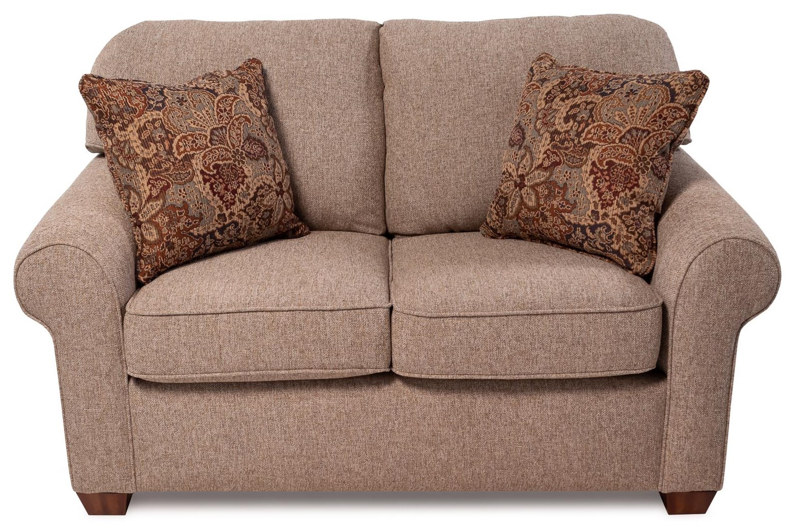 Aladdin Upholstered Love Seat by Flexsteel at Rotmans