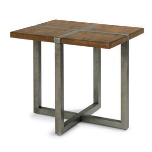 Flexsteel Trestle End Table