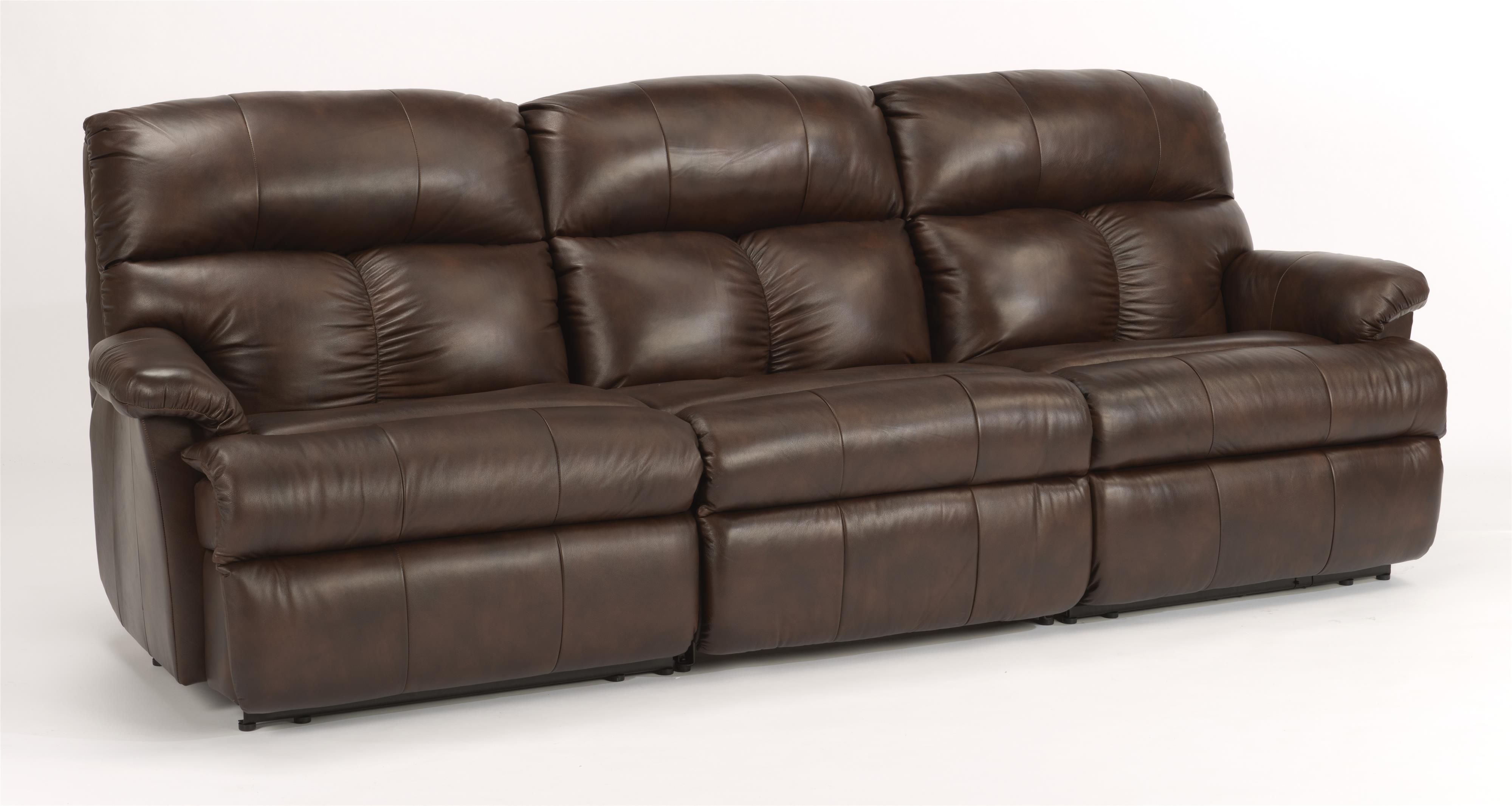 Triton  3 Pc Power Reclining Sectional Sofa by Flexsteel at Thornton Furniture