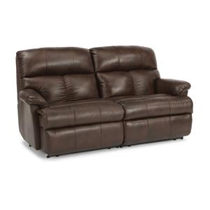 Casual Reclining Studio Sofa