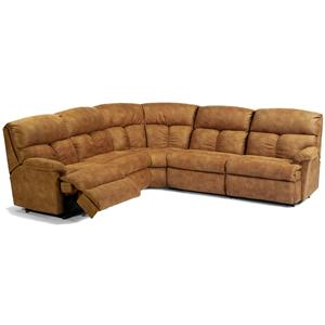 Flexsteel Triton  Reclining Sectional