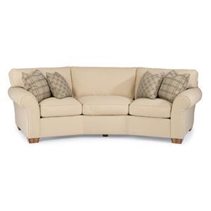 """Flexsteel Vail 107"""" Vail Conversation Sofa"""
