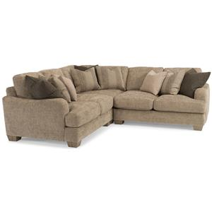 Flexsteel Vanessa Sectional Sofa