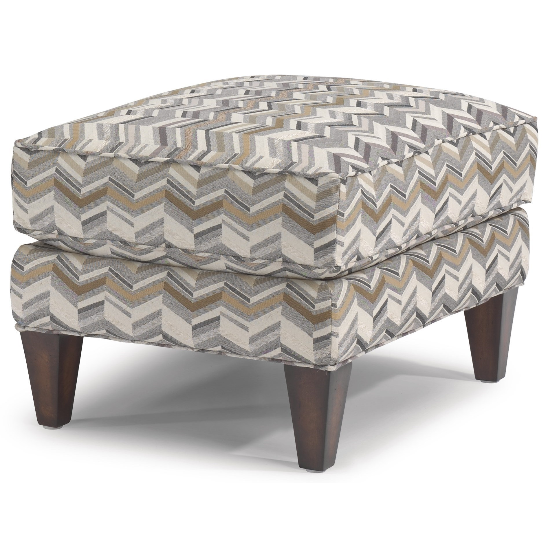 Venture Ottoman by Flexsteel at Rooms and Rest