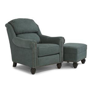 Flexsteel Latitudes - Wayne Chair and Ottoman