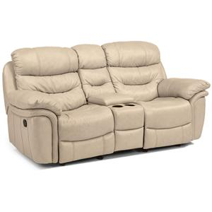 Flexsteel Latitudes - Westport Rocking Reclining Love Seat