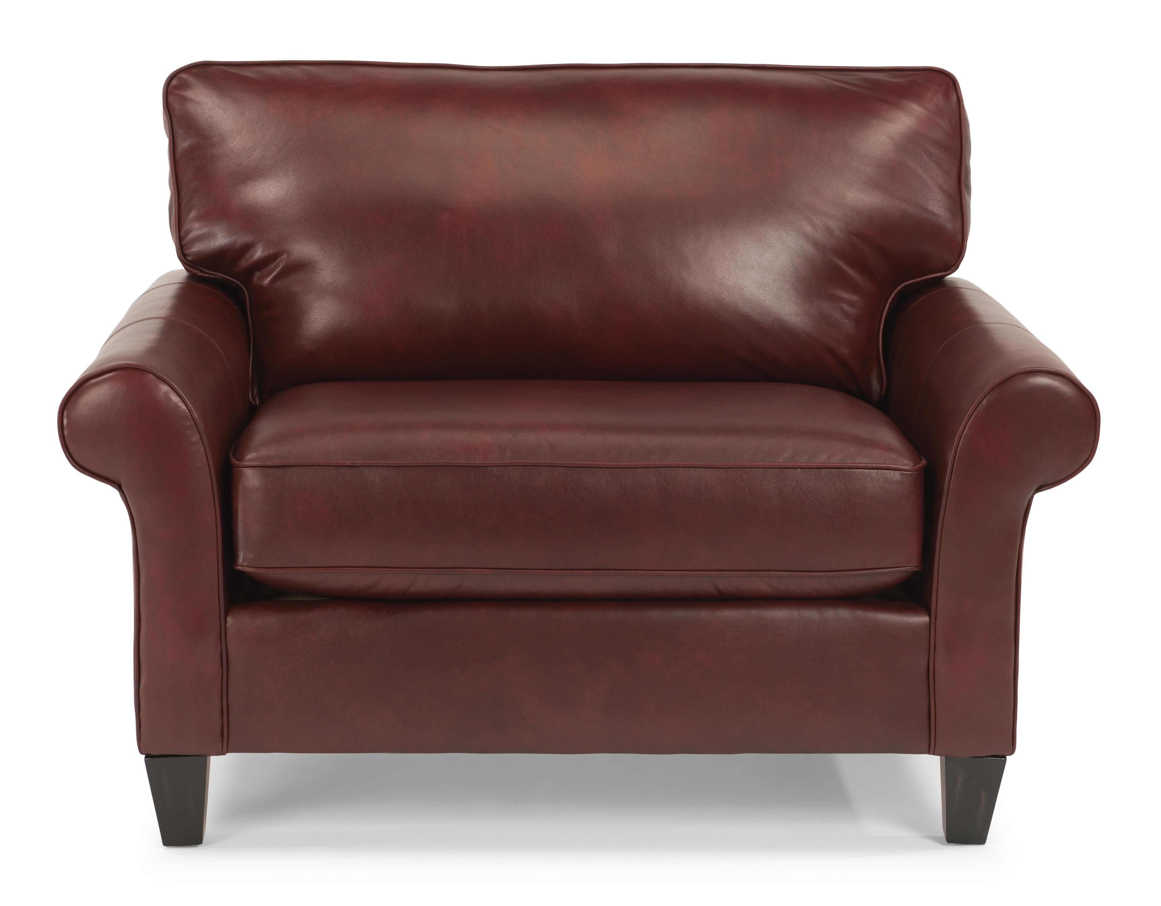 Westside Chair and 1/2 by Flexsteel at Jordan's Home Furnishings