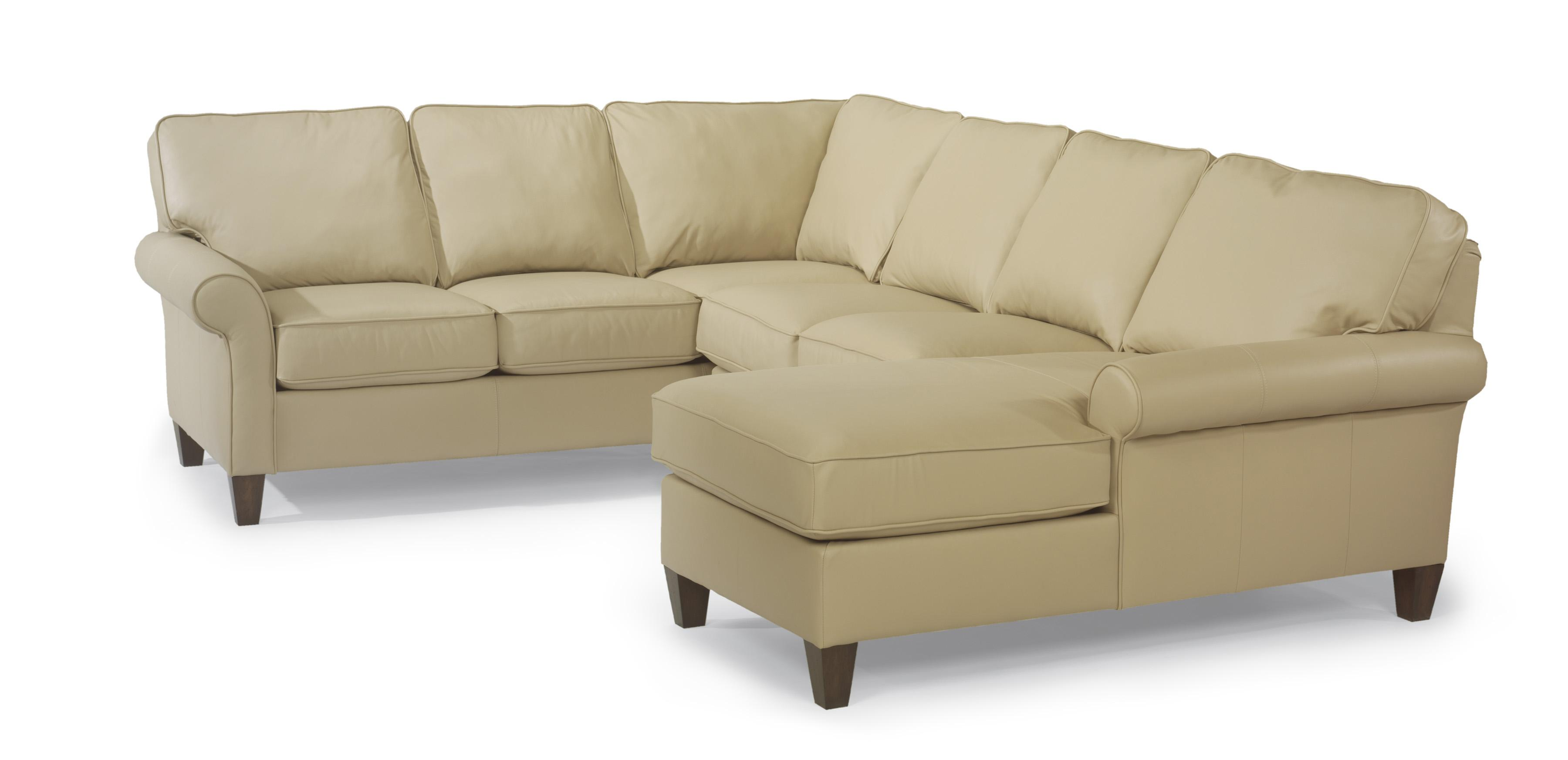 Westside Sectional Sofa by Flexsteel at Mueller Furniture