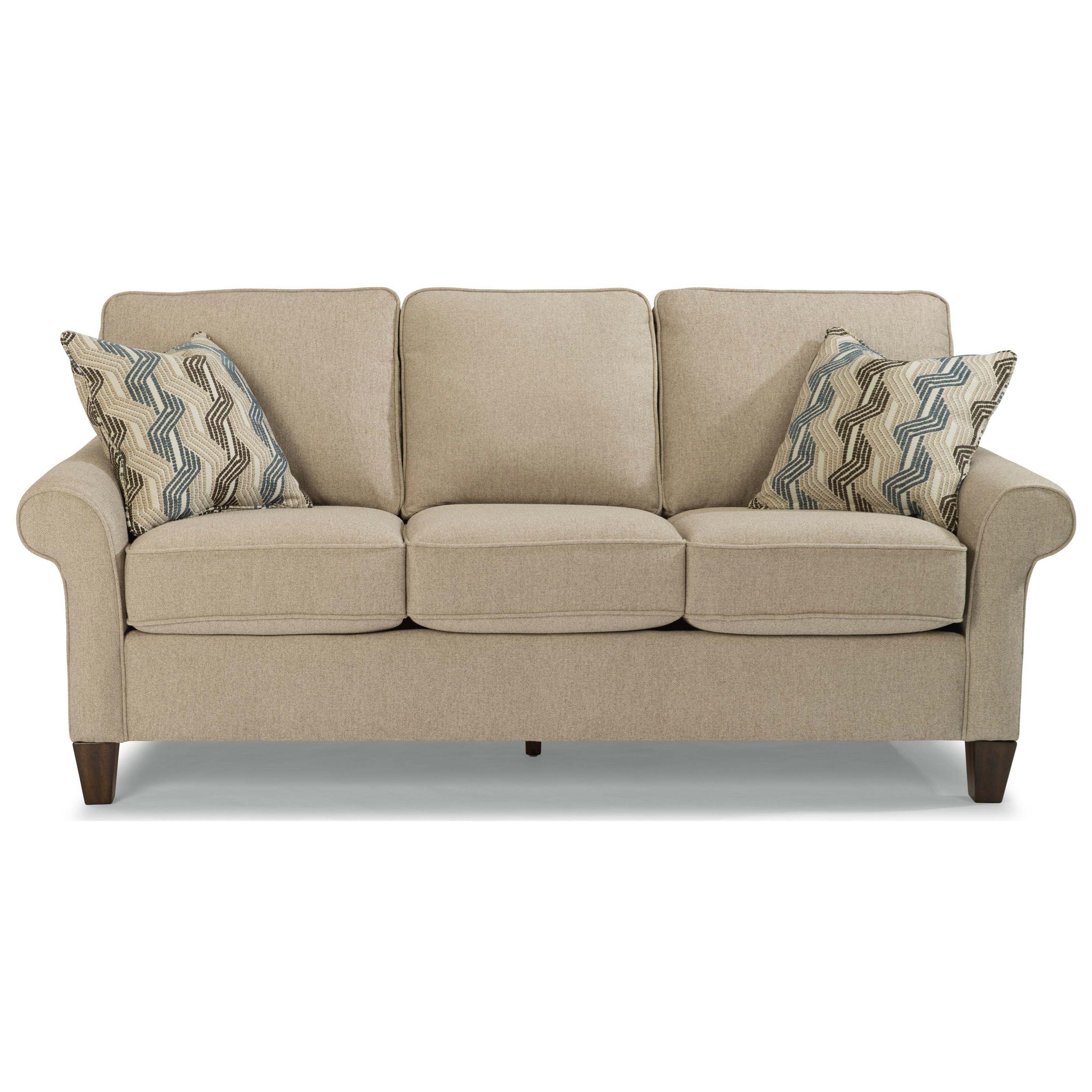Westside Sofa by Flexsteel at Steger's Furniture
