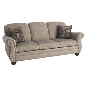 "87"" Three Seat Stationary Sofa"