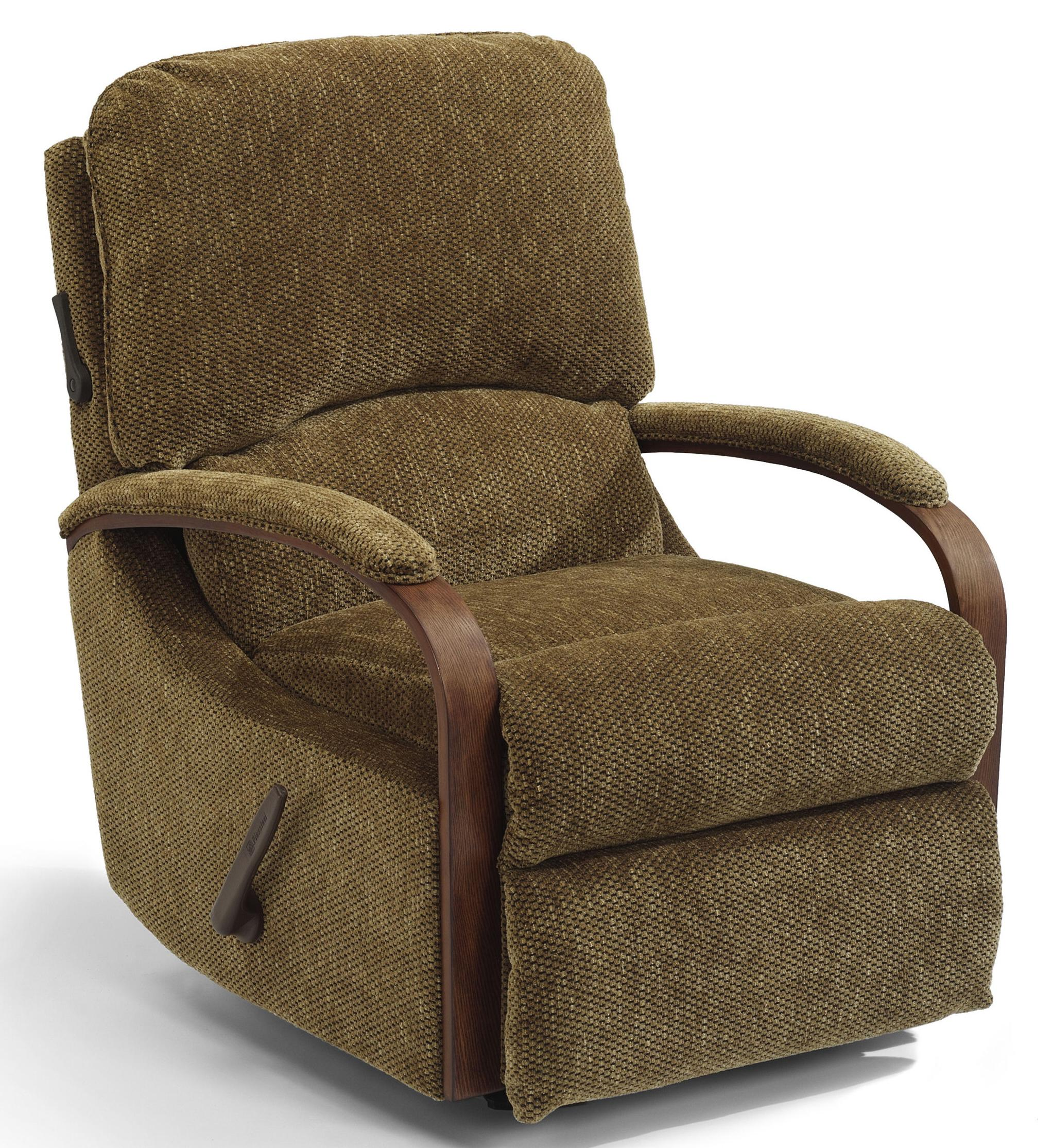 Woodlawn Swivel Glider Recliner by Flexsteel at Furniture and ApplianceMart