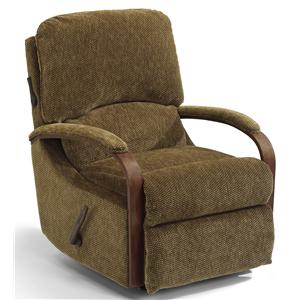 Flexsteel Woodlawn Swivel Glider Recliner