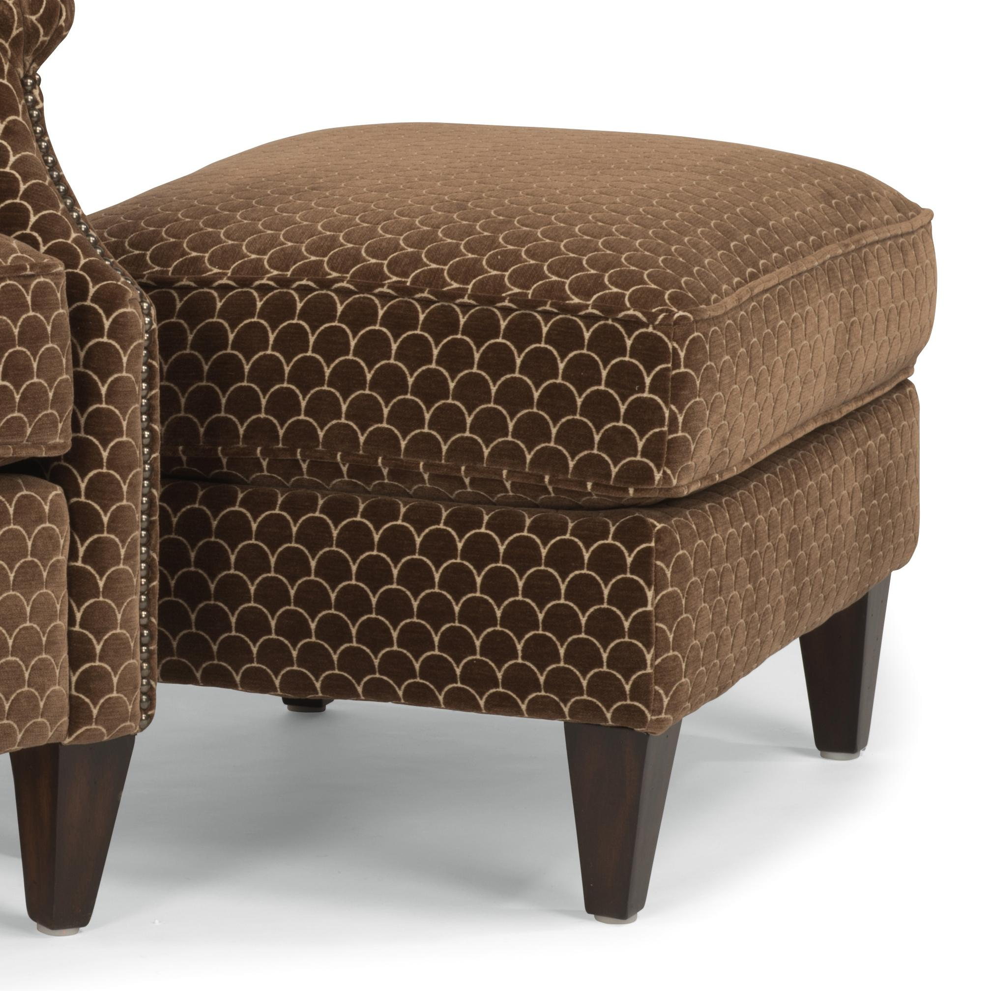 Zevon Ottoman by Flexsteel at Steger's Furniture