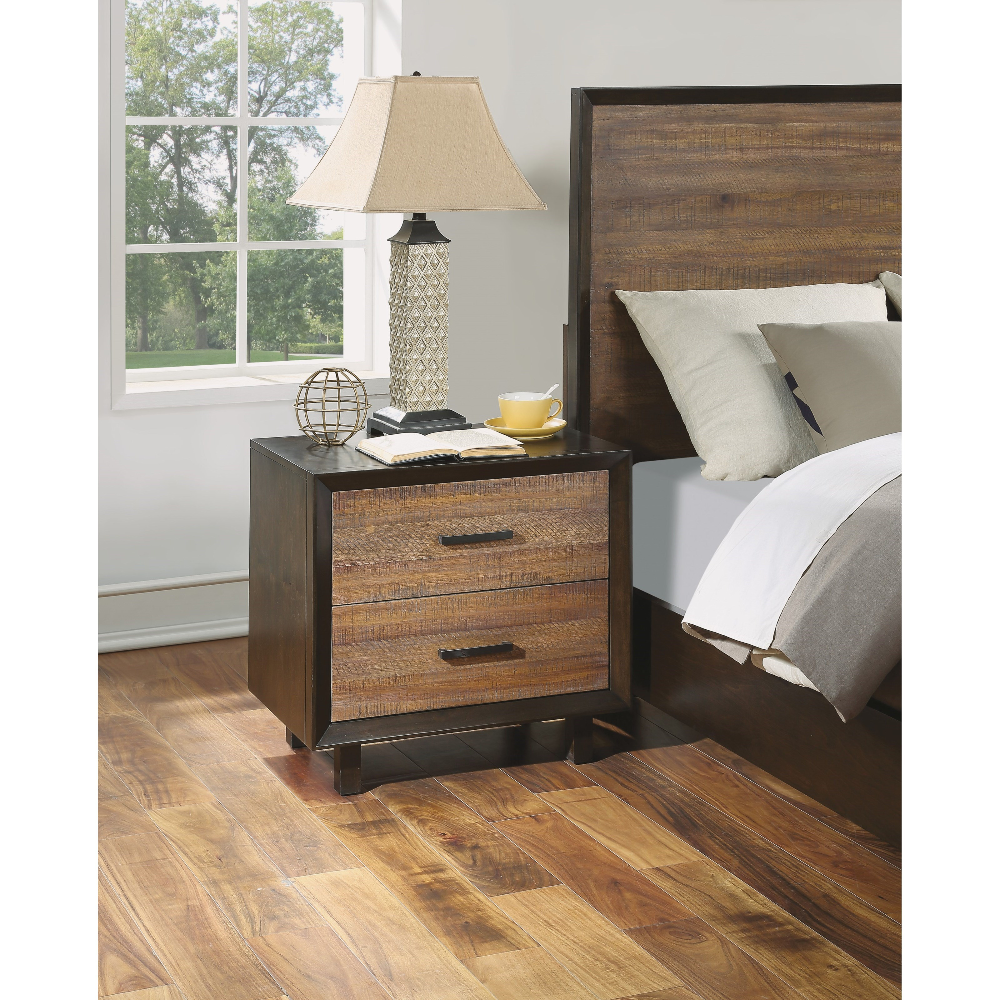 Alpine Nightstand by Flexsteel Wynwood Collection at Northeast Factory Direct