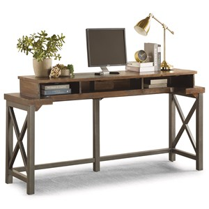 Industrial Work Console with USB Ports and Outlets