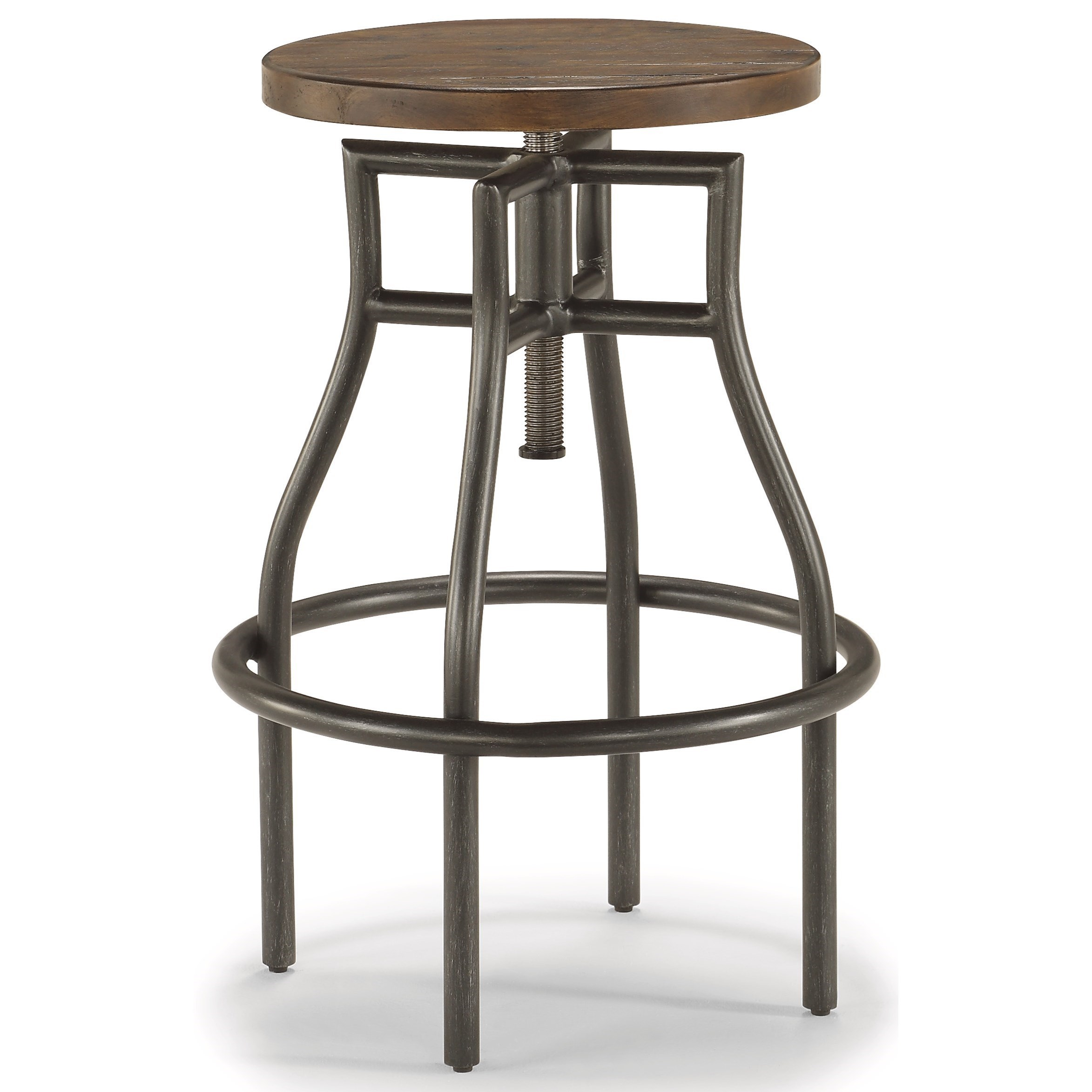 Carpenter Stool by Flexsteel Wynwood Collection at Northeast Factory Direct