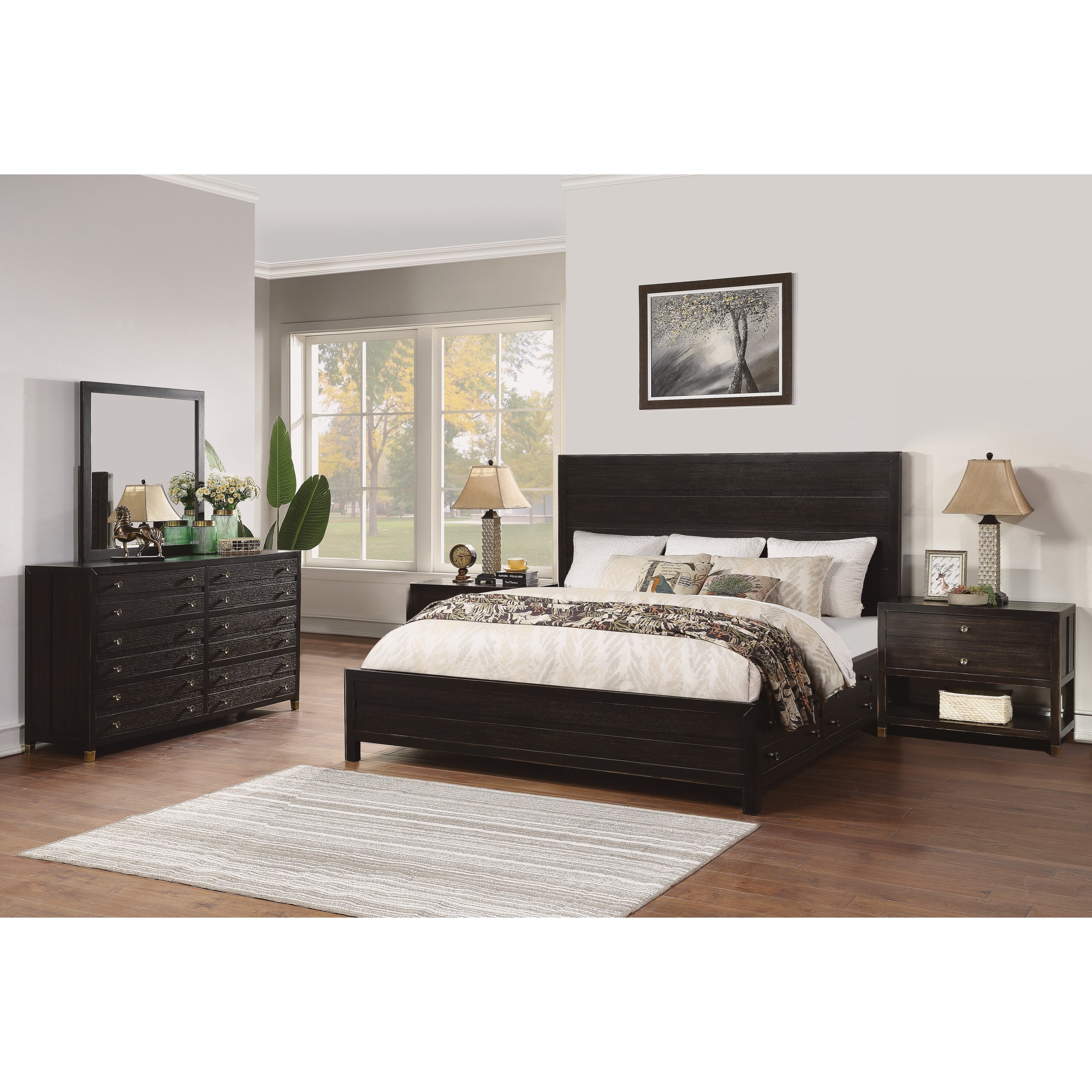 Cologne Queen Bedroom Group by Flexsteel Wynwood Collection at Steger's Furniture