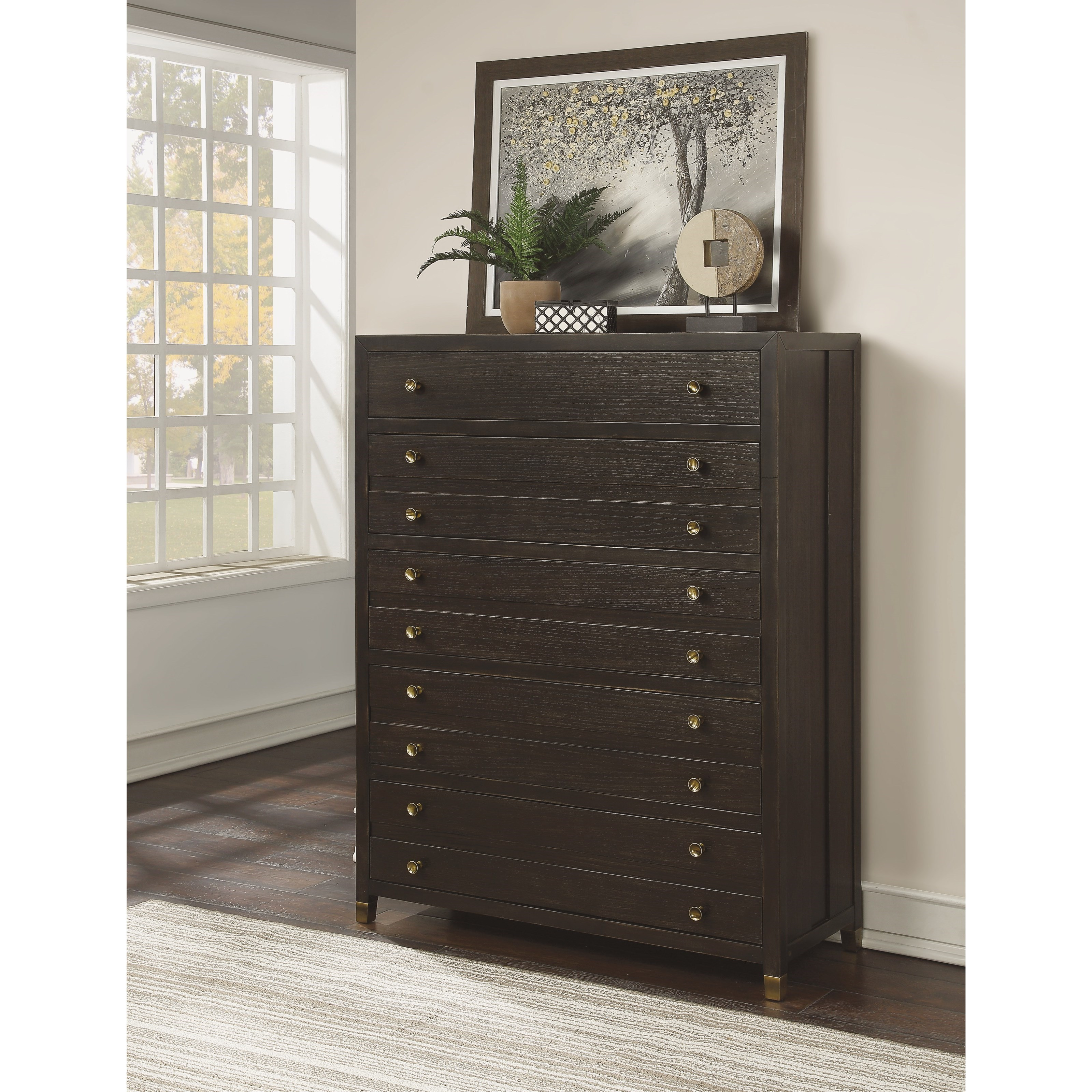 Cologne Chest of Drawers by Flexsteel Wynwood Collection at Northeast Factory Direct