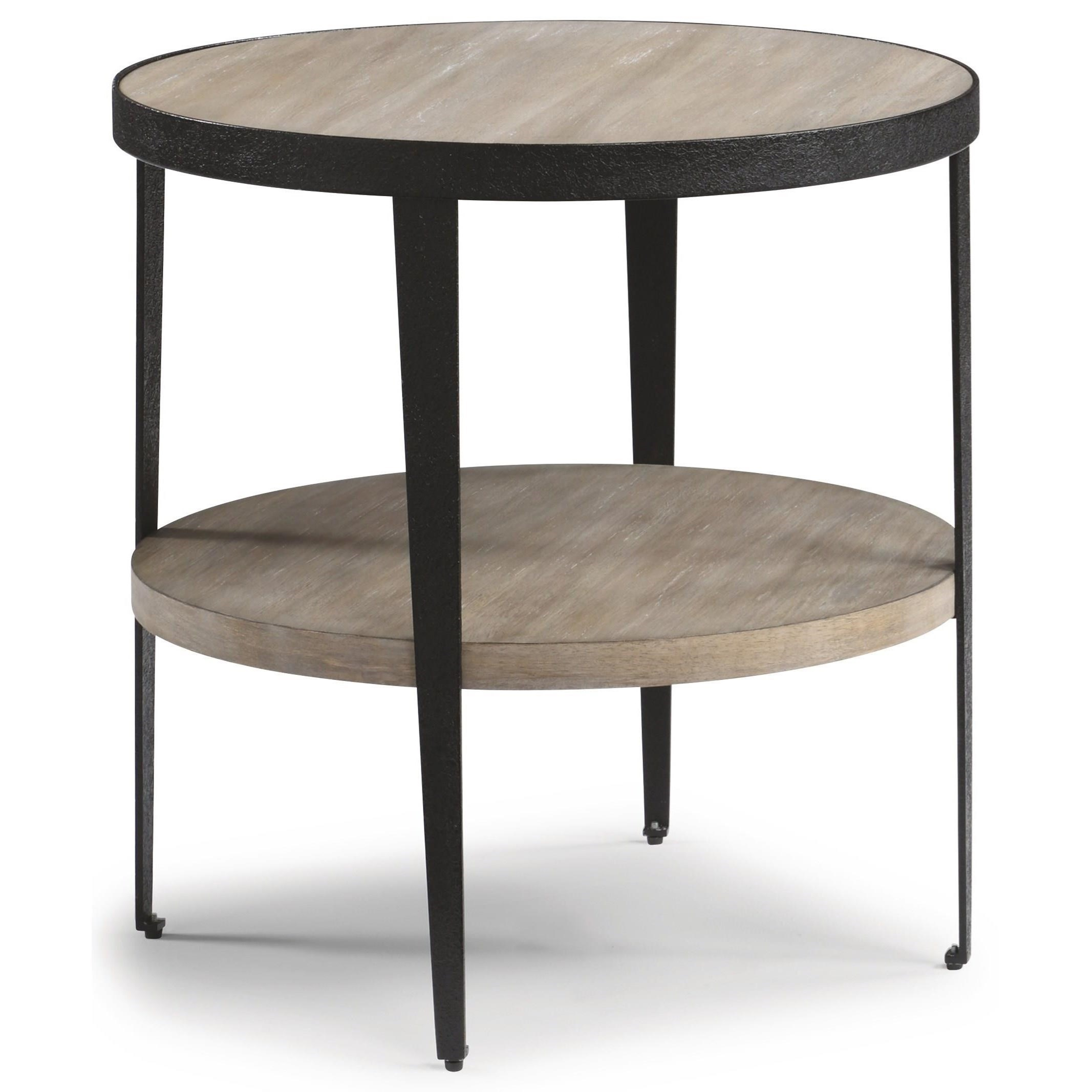 Compass Lamp Table  by Flexsteel Wynwood Collection at Northeast Factory Direct