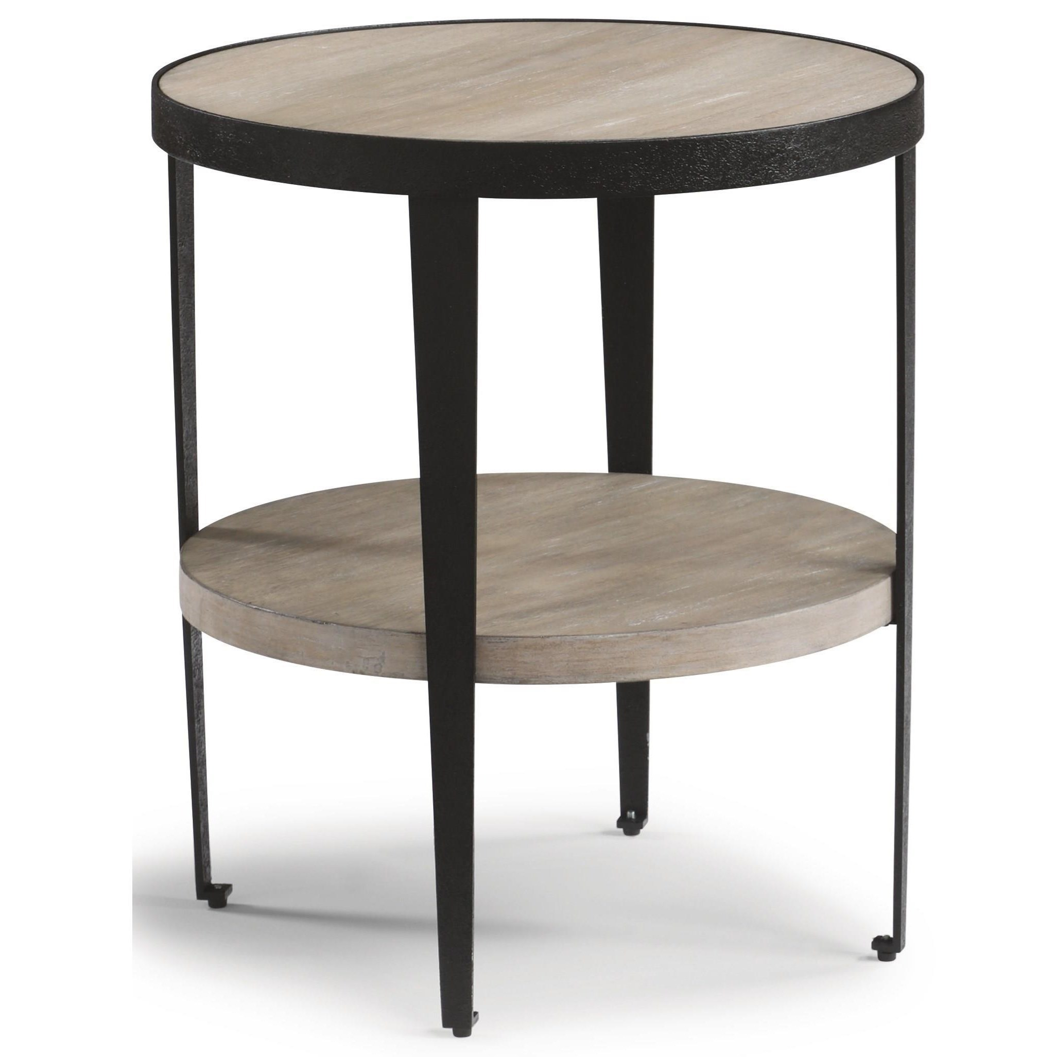 Compass Chairside Table  by Flexsteel Wynwood Collection at Northeast Factory Direct