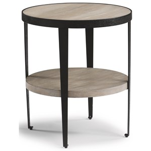 Modern Round Chairside Table