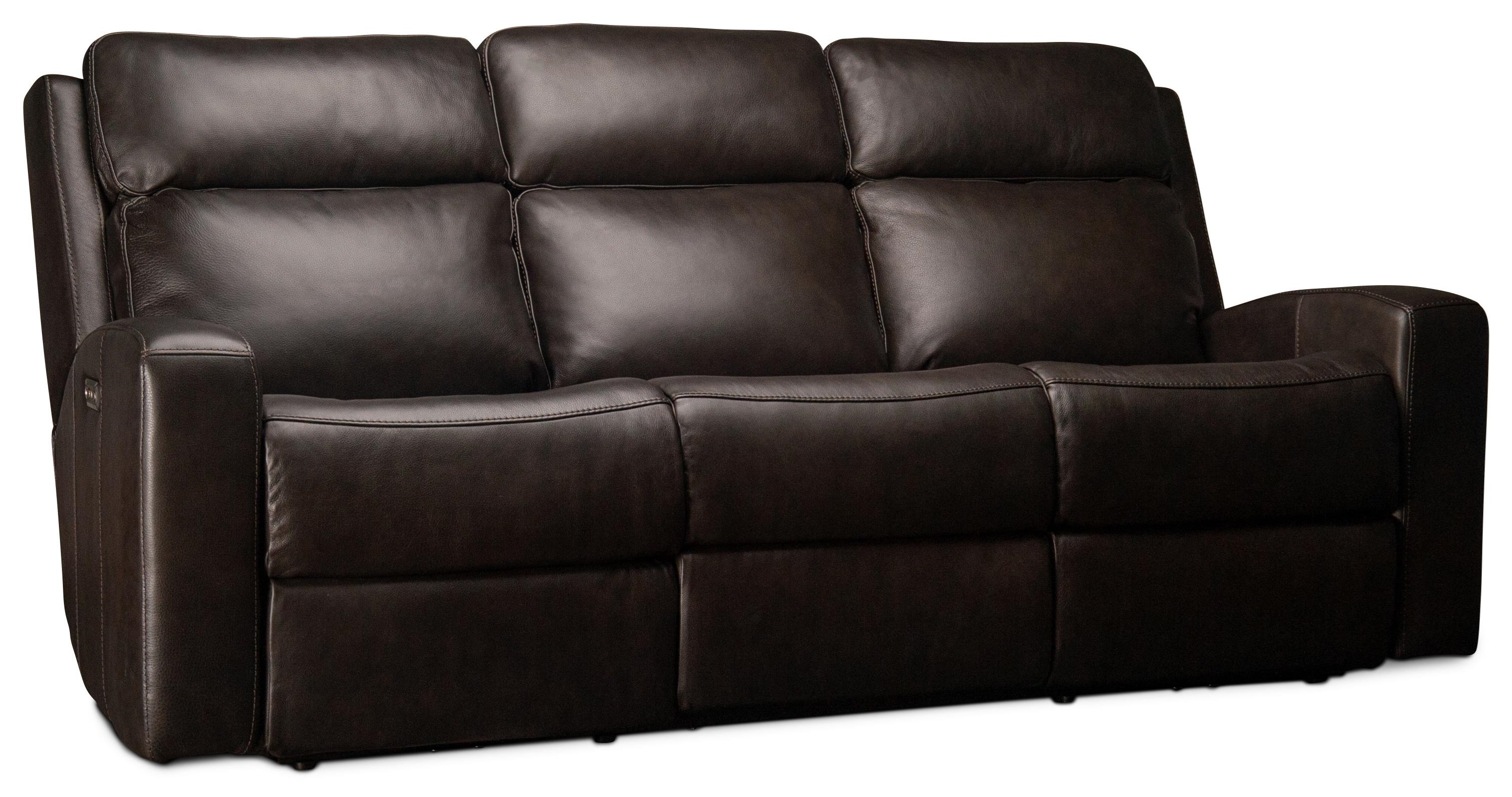 Cordelia Cordelia Leather Match Power Sofa by Flexsteel Wynwood Collection at Morris Home